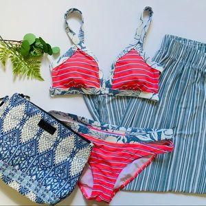 Malibu Dream Girl Stripe Bikini